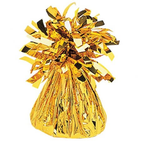 Gold Foil Balloon Weight I Cool Party Balloons and Accessories I UK
