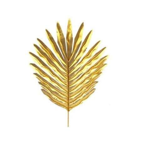Artificial Gold Palm Leaves I Tropical Party Decorations I My Dream Party Shop I UK