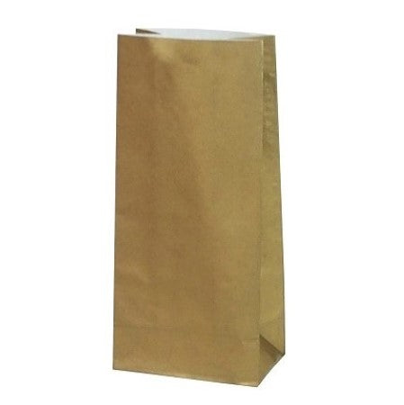 Gold Party Bags Pack of 10 I Cool Party Bags I UK