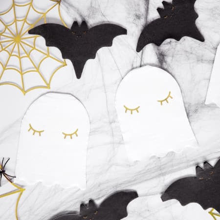 Gold Foil Spiderweb Halloween Decorations I Cool Halloween Party Decoration UK