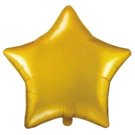Metallic Gold Star Foil Balloon 48 cm - My Dream Party Shop