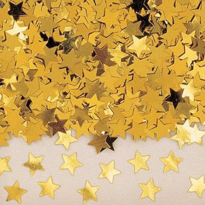 Gold Star Metallic Confetti 14g - My Dream Party Shop