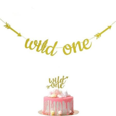 Gold Wild One Garland I Wild One Party Supplies I UK