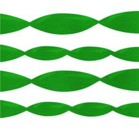 Emerald Green Tissue Paper Crepe Streamer x 24 metres - My Dream Party Shop