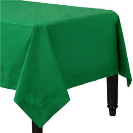 Bottle Green Paper Tablecloths - My Dream Party Shop