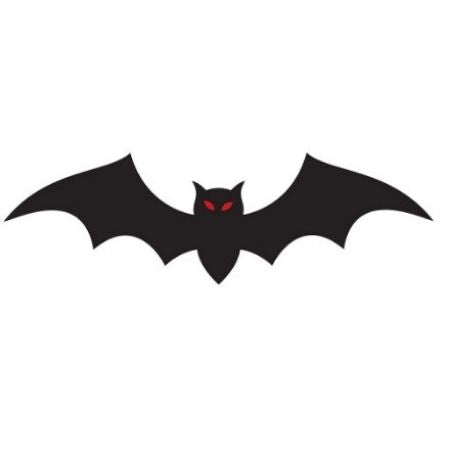 Black Bat Shapes Pack of 30 I Halloween Party Decorations I My Dream Party Shop