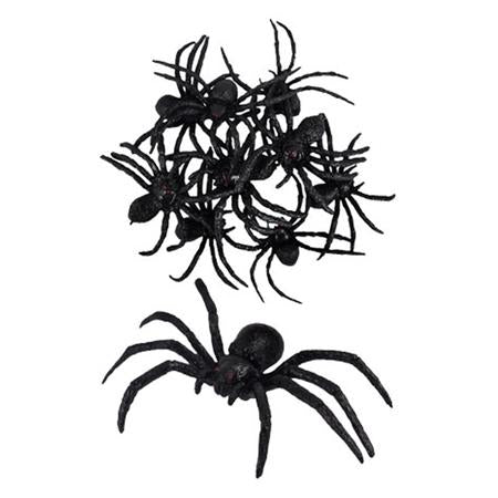 Halloween Black Spiders I Modern Halloween Decorations I My Dream Party Shop UK