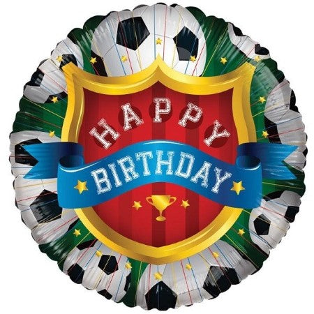 Football Happy Birthday Balloon I Football Party I My Dream Party Shop