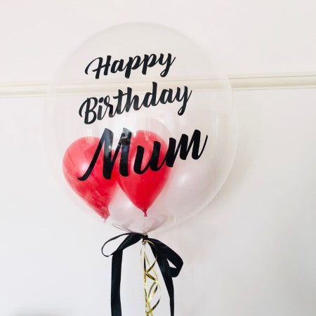 Personalised Bubble Balloon and Matching Balloon Bouquet I Collection Ruislip I My Dream Party Shop