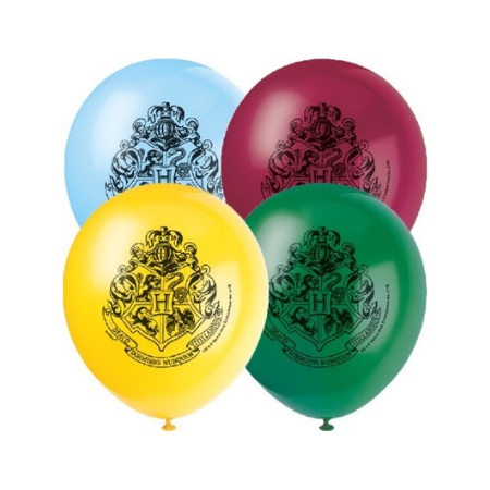 Harry Potter Latex Balloons I Hogwarts Shield I My Dream Party Shop