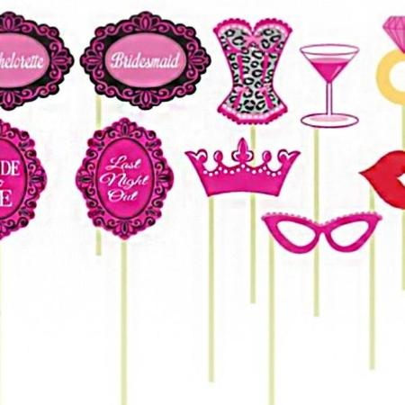 Hen Party Photo Booth Props I Hen Party Accessories I My Dream Party Shop UK