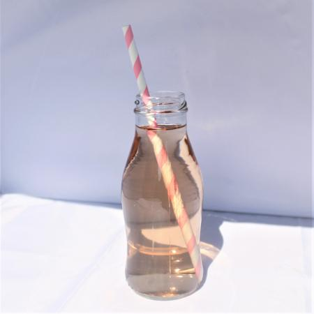 Retro Glass Mini Milk Bottle I Cool Tableware and Party Supplies I UK
