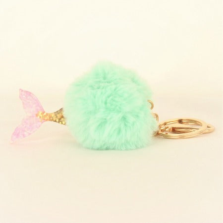 Mermaid Tail Key Ring Chain I Mermaid Party Favours I My Dream Party Shop I UK