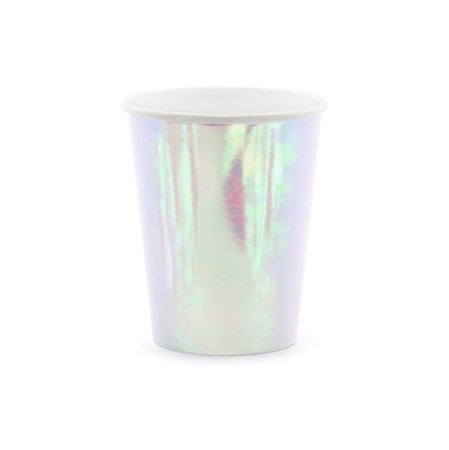 Iridescent Party Cups I Iridescent Party Tableware I My Dream Party Shop I UK
