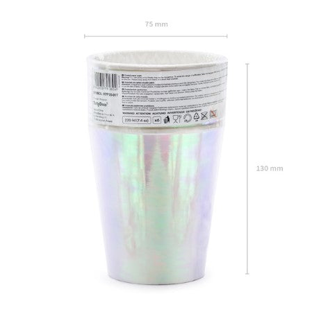 Iridescent Party Cups I Modern Party Cups I My Dream Party Shop I UK