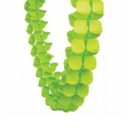 Pastel Green Four Leaf Clover Tissue Paper Garland I Tissue Decorations I My Dream Party Shop I UK