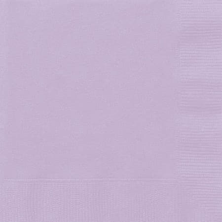Lilac Napkins I Pretty Lilac Party Tableware and Decorations I UK
