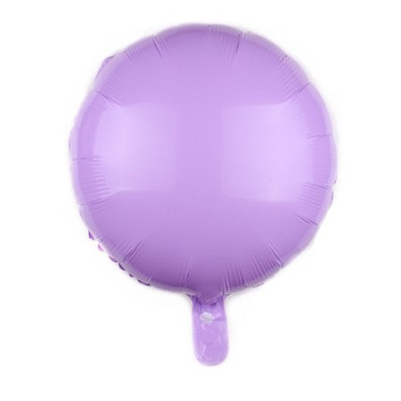 Lilac Candy Macaroon Round Foil Balloon I Cool Foil Balloons I My Dream Party Shop I UK