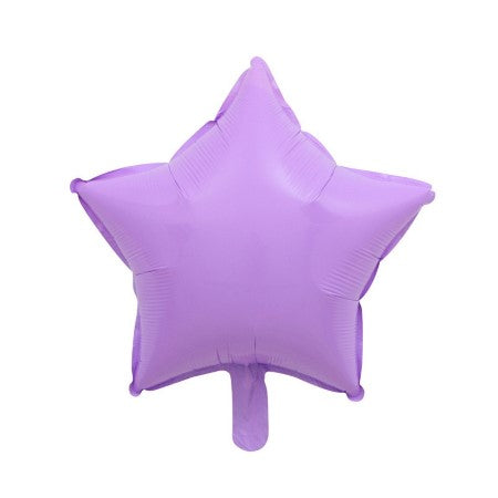 Lilac Star Shaped Foil Balloon I My Dream Party Shop I UK