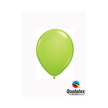 Lime Green 5 Inch Balloons by Qualatex I Cool Party Balloons I UK