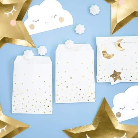 Little Stars Party Bags I 1st Birthday Party Supplies I UK