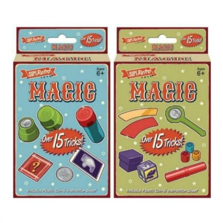 Retro Magic Tricks 15 in a Box - My Dream Party Shop