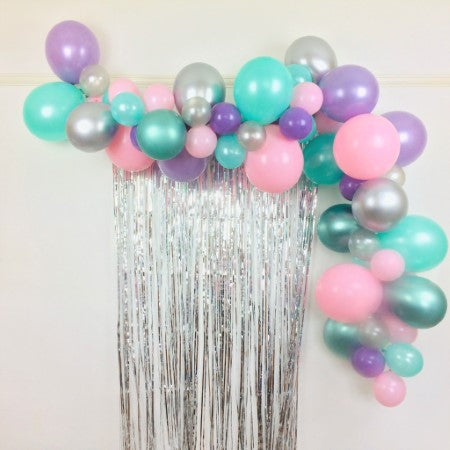 Mermaid Dreams Balloon Garland Cloud Decoration Kit I Under the Sea or Mermaid Party Decorations I My Dream Party Shop I UK