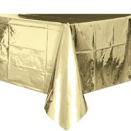 Metallic Gold Tablecover I Modern Gold Party Supplies I My Dream Party Shop UK