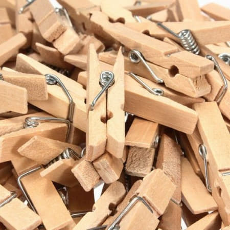 Mini Pegs for Garlands or Photos I DIY Decorations I My Dream Party Shop I UK