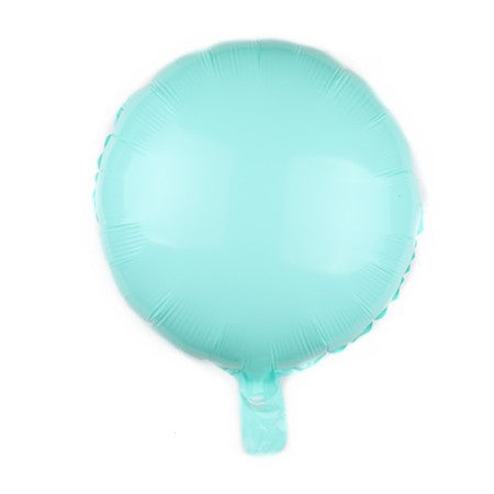 Mint Green Candy Macaroon Round Foil Balloon I Cool Foil Balloons I My Dream Party Shop I UK