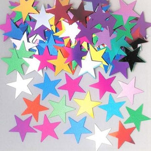 Multi-Coloured Jumbo Stardust Confetti - My Dream Party Shop