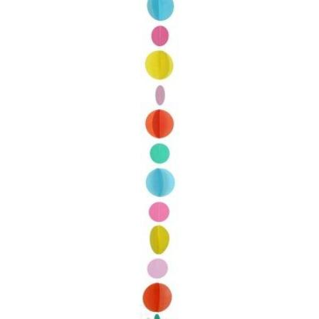 Multicolour Circles Balloon Tail My Dream Party Shop