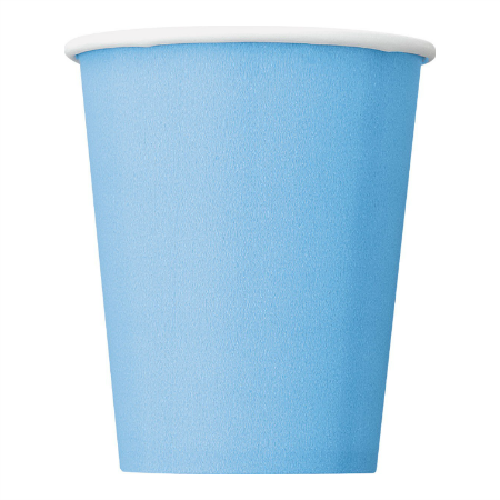 Blue Party Cups I Modern Cool Blue Tableware UK