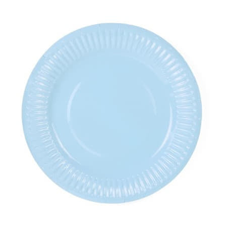 Pale Blue Party Plates I Cool Blue Party Tableware and Decorations UK