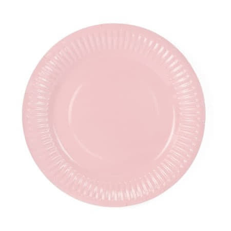 Pale Pink Party Plates I Pretty Pink Tableware and Decorations UK