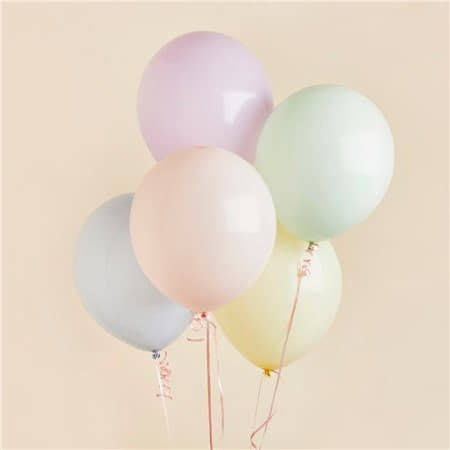 12 Inch Pastel Balloons I Pretty Pastel Party Supplies I My Dream Party Shop UK