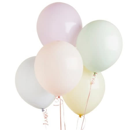 12 Inch Pastel Balloons I Pretty Pastel Decorations I My Dream Party Shop UK