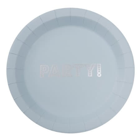 Pastel Blue Party Plates I Pretty Pastel Blue Tableware I My Dream Party Shop UK