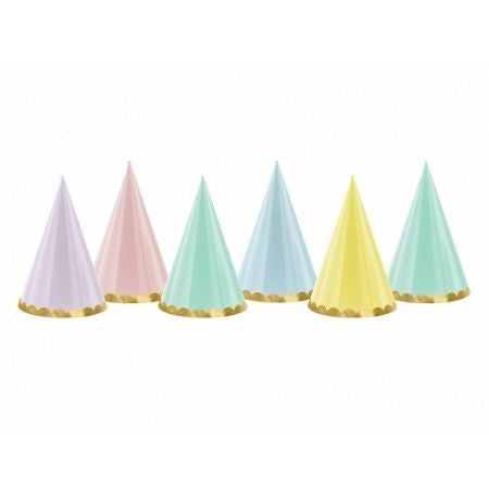 Pastel Party Hats I Pastel Party Supplies and Decorations I My Dream Party Shop