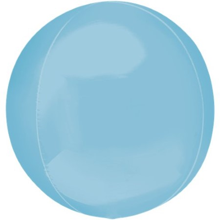 Pastel Blue Orbz Balloon I Modern Pastel Decorations I My Dream Party Shop UK