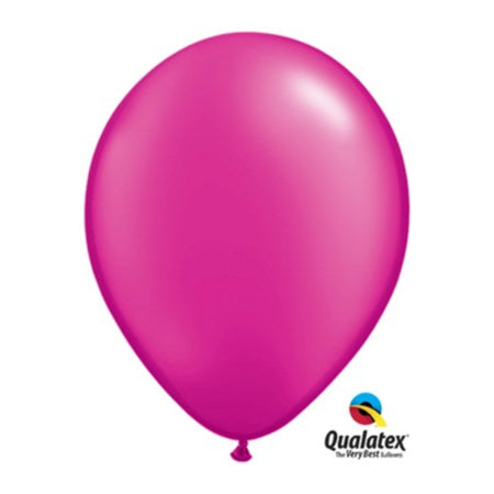 Pearl Magenta 11 inch Balloons by Qualatex I Modern Party Balloons I My Dream Party Shop UK
