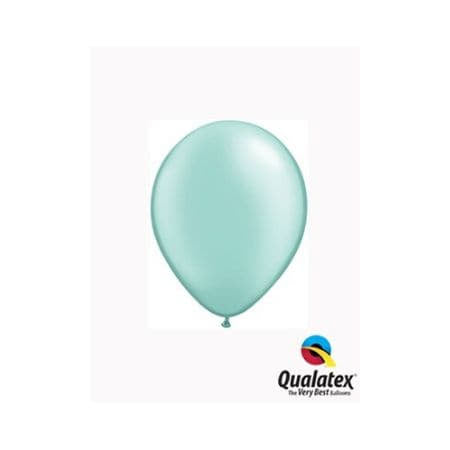 Pearl Mint Green 5 Inch Balloons I Cool Party Balloons I UK