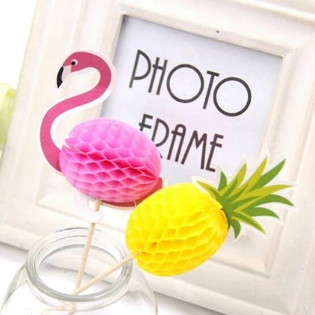 Pineapple Food Picks I Tropical Party Supplies I My Dream Party Shop UK