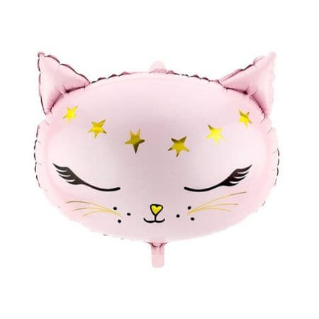 Pink Cat Foil Balloon I Girls Party Balloons I My Dream Party Shop UK