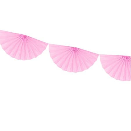 Light Pink Fan Garland I Stylish Party Supplies I My Dream Party Shop I UK
