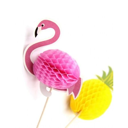 Pink Flamingo Food Picks I Flamingo Party I My Dream Party Shop I UK