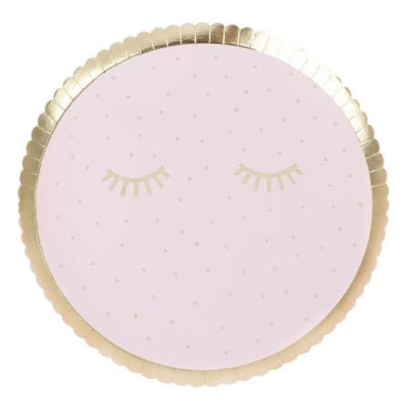 Pink Pamper Party Plates I Girls Sleepover Party Supplies I My Dream Party Shop UK