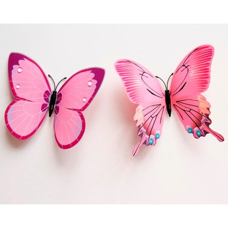 Pink Butterfly Decorations I Alice in Wonderland Party Decorations I My Dream Party Shop I UK