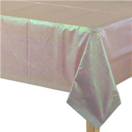Iridescent Pink Tablecover I Iridescent Party Tableware I My Dream Party Shop I UK