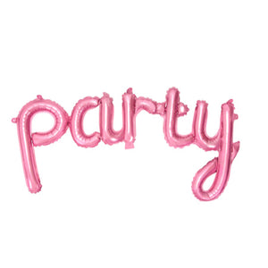 Pink Foil Party Phrase Balloon I My Dream Party Shop I UK